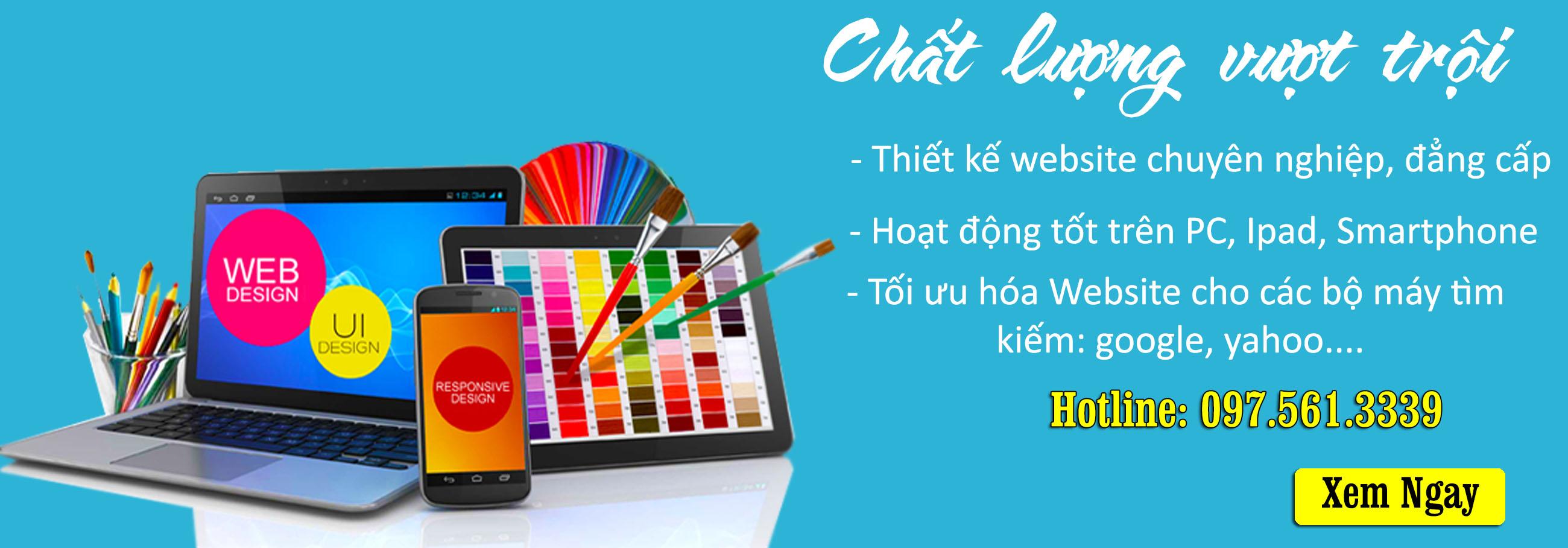 Banner thiết kế web Phạm Nguyễn