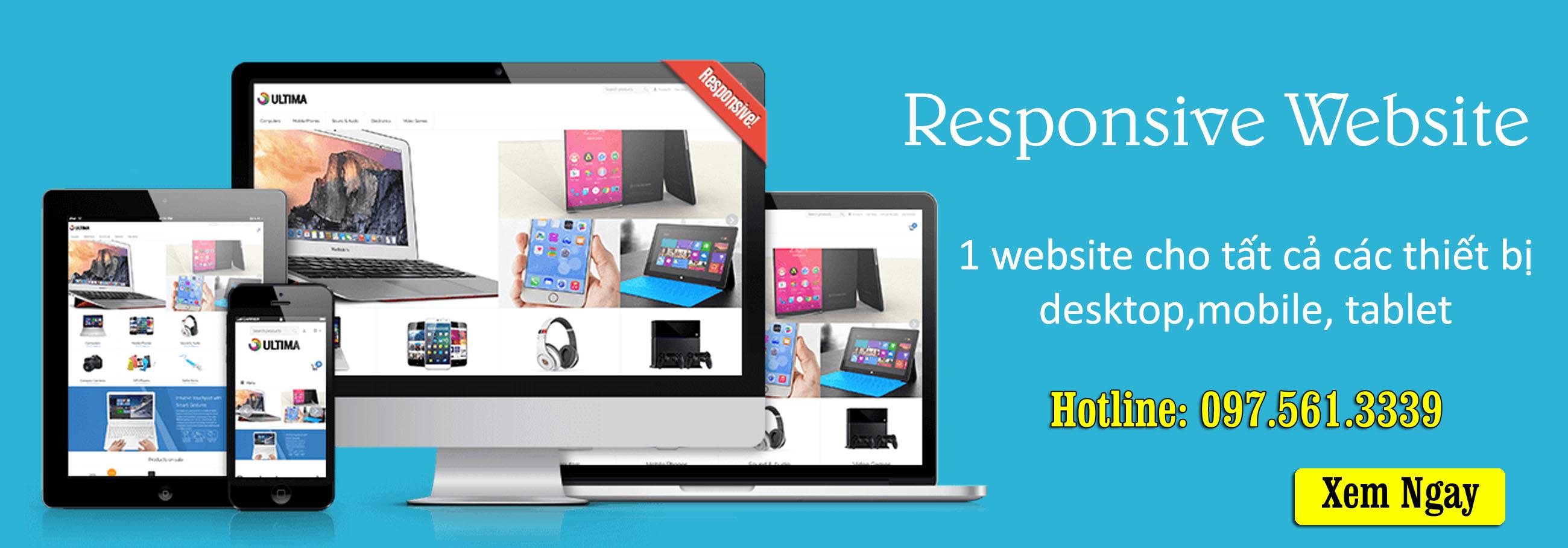 Banner thiết kế web PN